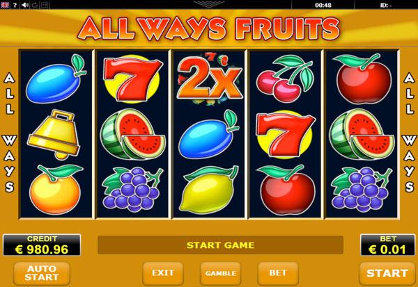 Always Fruits 777 Slots Bay game