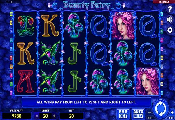 Beauty Fairy 777 Slots Bay game