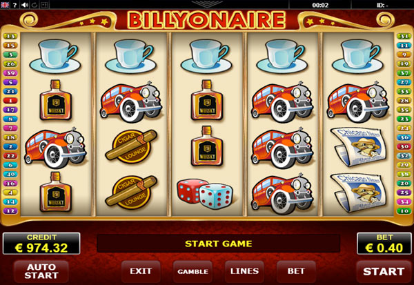 Billyonaire 777 Slots Bay game