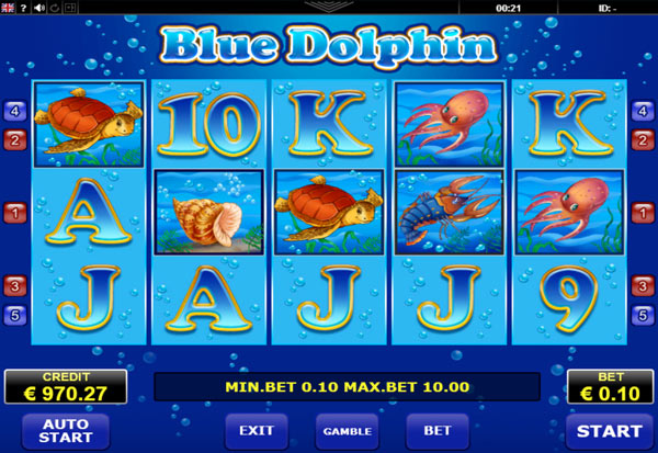 Blue Dolphin 777 Slots Bay game