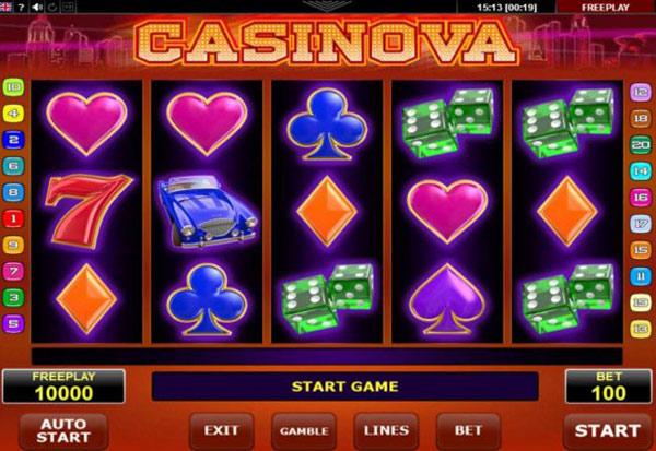 Casinova 777 Slots Bay game
