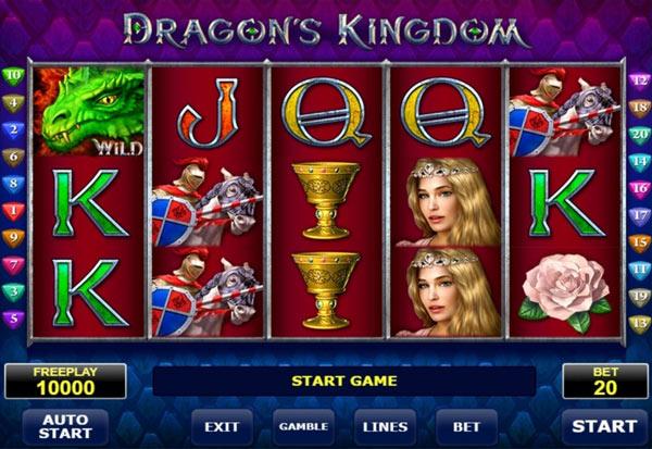 Dragons Kingdom 777 Slots Bay game