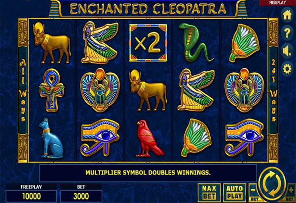 Enchanted Cleopatra 777 Slots Bay game