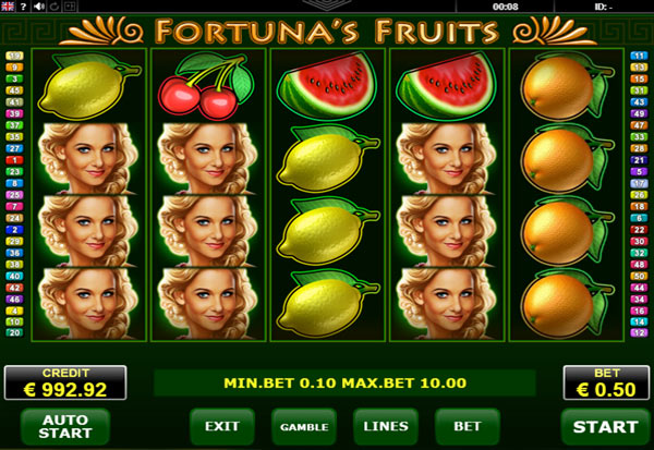 Fortunas Fruits 777 Slots Bay game