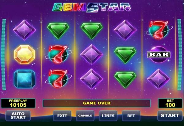 Gem Star 777 Slots Bay game