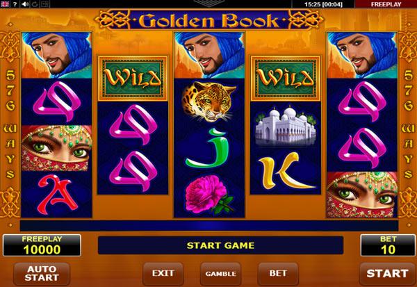 Golden Book 777 Slots Bay game