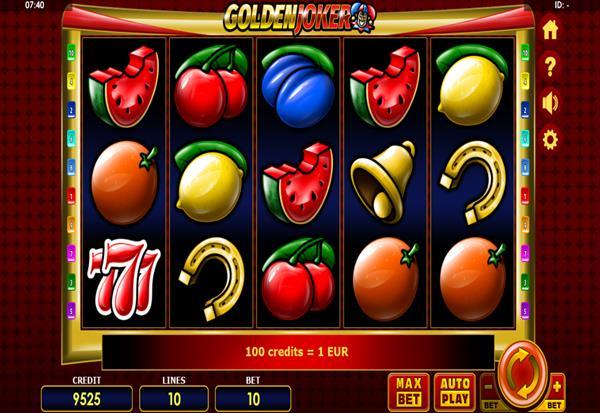 Golden Joker 777 Slots Bay game