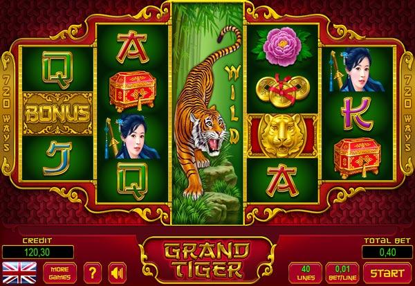 Grand Tiger 777 Slots Bay game