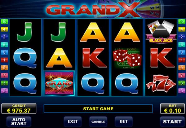 GrandX 777 Slots Bay game