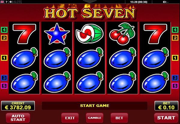 Hot 7 777 Slots Bay game