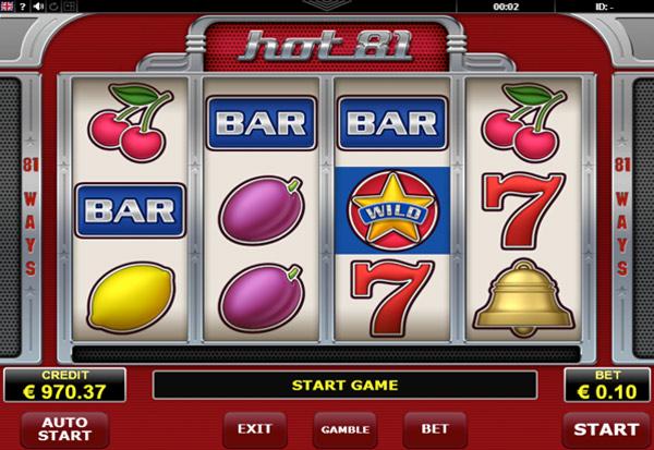 Hot 81 777 Slots Bay game