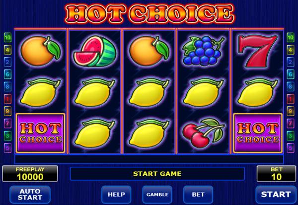 Hot Choice 777 Slots Bay game