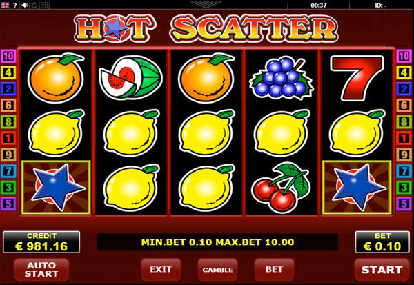 Hot Scatter 777 Slots Bay game