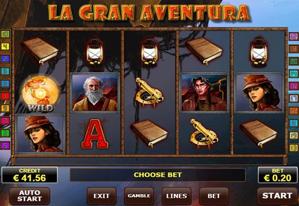 La Gran Aventura 777 Slots Bay game