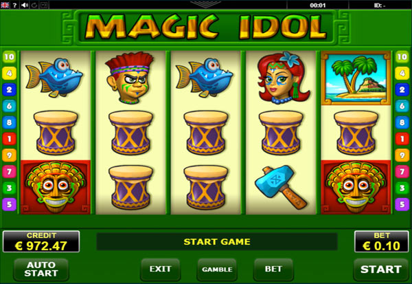 Magic Idol 777 Slots Bay game