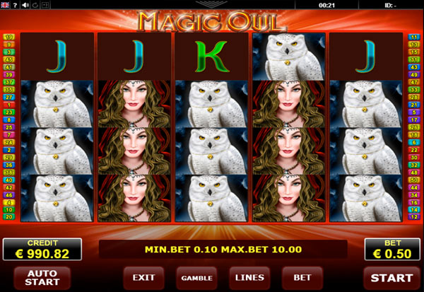 Magic Owl 777 Slots Bay game