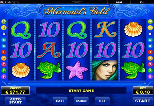 Mermaids Gold 777 Slots Bay game