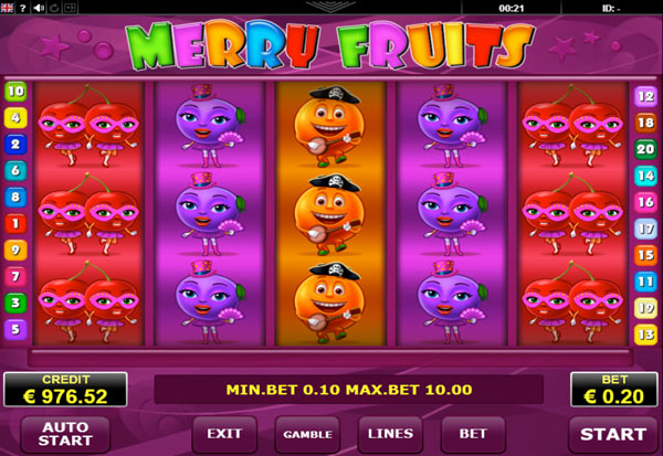 Merry Fruits 777 Slots Bay game