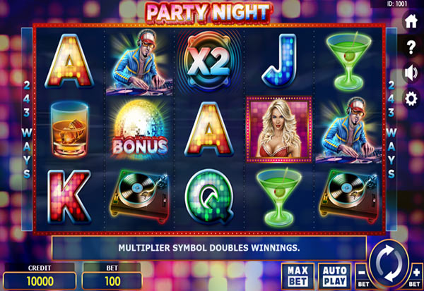 Party Night 777 Slots Bay game