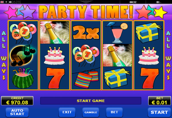 Party Time 777 Slots Bay game