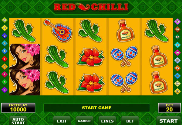 Red Chilli 777 Slots Bay game