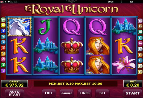 Royal Unicorn 777 Slots Bay game