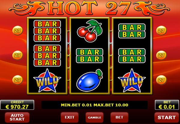 Twenty Seven 777 Slots Bay game