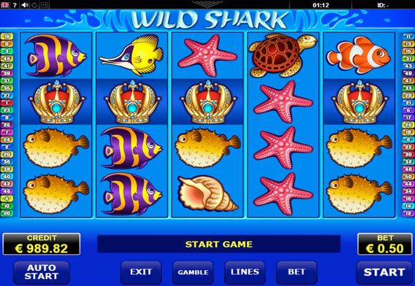 Wild Shark 777 Slots Bay game