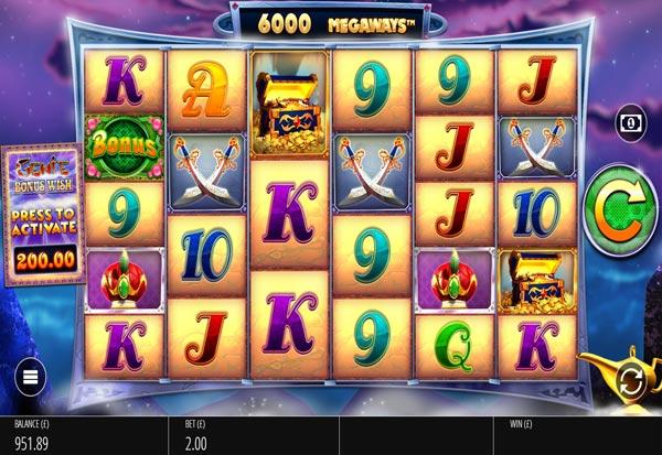 Genie Jackpot Megaways 777 Slots Bay game