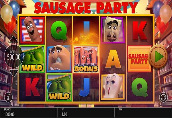 Sausage Party 777 Slots Bay game