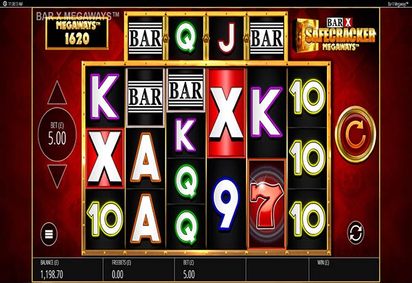 Bar X Safecracker Megaways 777 Slots Bay game