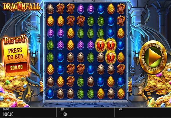 DragonFall 777 Slots Bay game