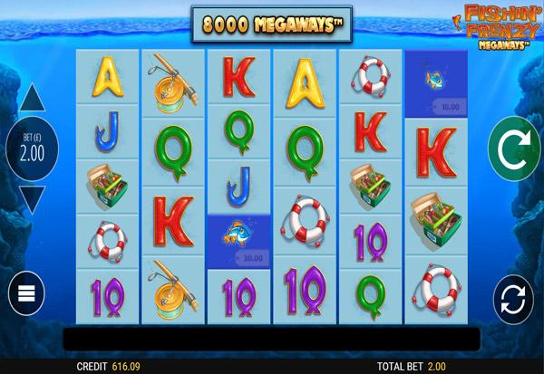 Fishin' Frenzy Megaways 777 Slots Bay game