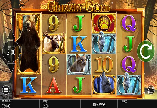 Grizzly Gold 777 Slots Bay game