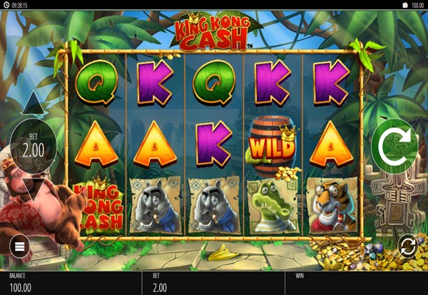 King Kong Cash 777 Slots Bay game
