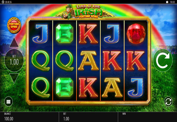 Luck O' The Irish Fortune Spins 777 Slots Bay game