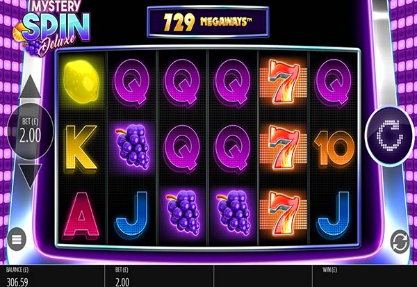 Mystery Spin Deluxe Megaways 777 Slots Bay game