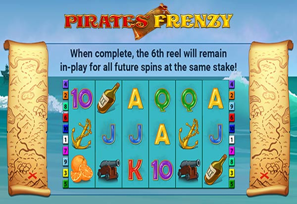 Pirate's Frenzy 777 Slots Bay game