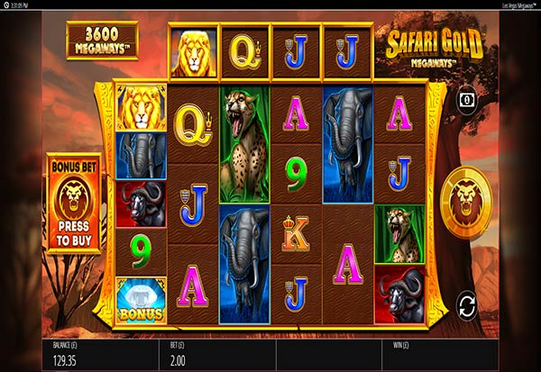 Safari Gold Megaways 777 Slots Bay game