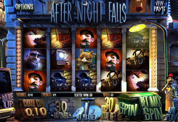 After Night Falls 777 Slots Bay game