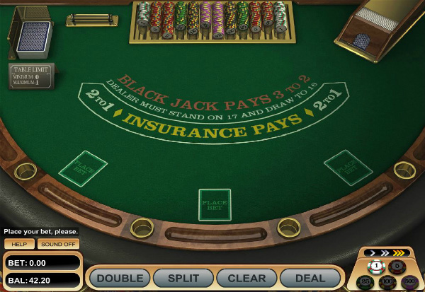 American Blackjack 777 Slots Bay game