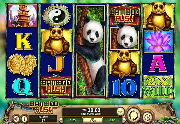 Bamboo Rush 777 Slots Bay game