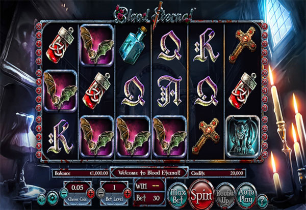 Blood Eternal 777 Slots Bay game