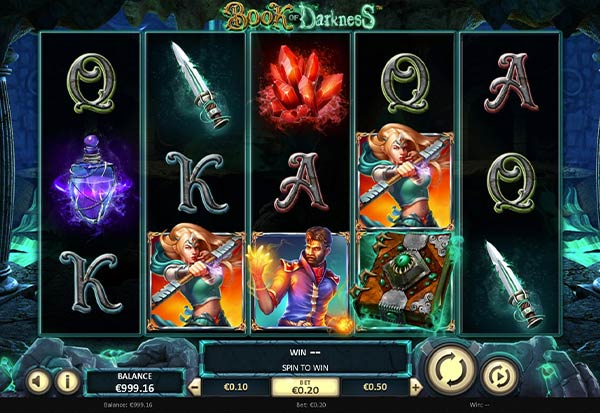 Book of Darkness 777 Slots Bay game