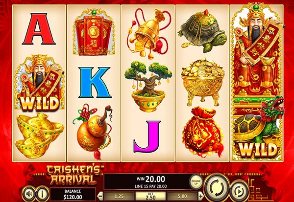 Caishen's Arrival 777 Slots Bay game