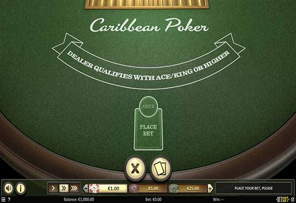 Caribbean Poker 777 Slots Bay game