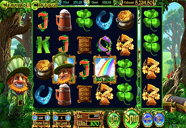 Charms & Clovers 777 Slots Bay game