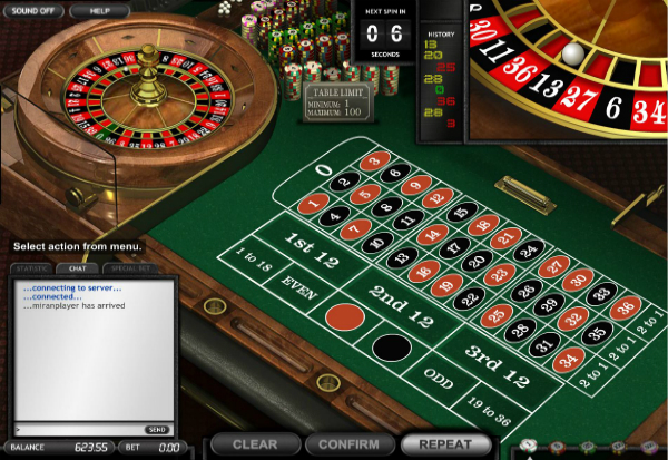 Common Draw Roulette 777 Slots Bay game