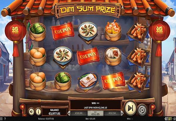 Dim Sum Prize 777 Slots Bay game