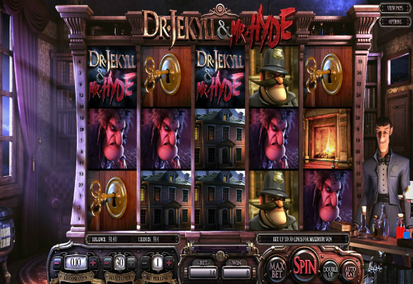 Dr. Jekyll & Mr. Hyde 777 Slots Bay game